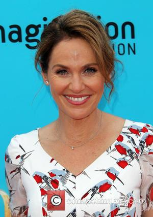 Amy Brenneman - Preimere of 'The Boxtrolls' - Arrivals at AMC Universal CityWalk. - Universal City, California, United States -...