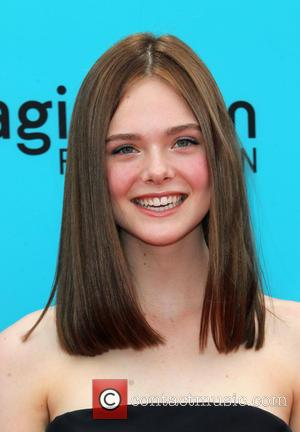 Elle Fanning - Preimere of 'The Boxtrolls' - Arrivals at AMC Universal CityWalk. - Universal City, California, United States -...