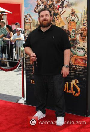 Nick Frost - Preimere of 'The Boxtrolls' - Arrivals at AMC Universal CityWalk. - Universal City, California, United States -...