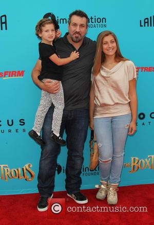 Joey Fatone, Briahna Joely Fatone and Kloey Alexandra Fatone - Stars of the new animated, adventure comedy 'The Boxtrolls' were...