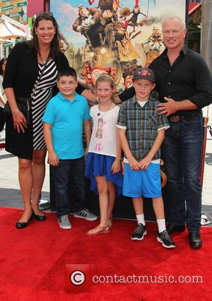 Neal McDonough, Ruve McDonough, Morgan Patrick McDonough, London Jane McDonough and Clover Elizabeth McDonough - Stars of the new animated,...