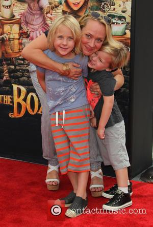 Nicole Sullivan, Dashel Pierce Packham and Beckett Edward Packham - Stars of the new animated, adventure comedy 'The Boxtrolls' were...