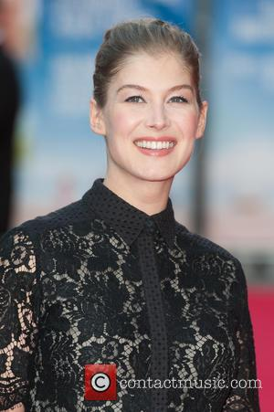 Rosamund Pike - 'What We Did on Our Holiday' premiere held at the Odeon West End - Arrivals at Odeon...