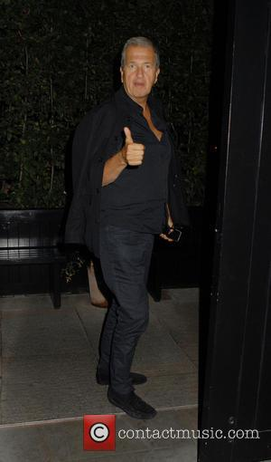 Mario Testino - Celebrities arrive at Chiltern Firehouse restaurant - London, United Kingdom - Monday 22nd September 2014
