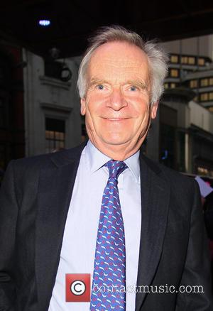Lord Jeffrey Archer - The Dominion Theatre was the venue for the press night of Evita, the stars were photographed...