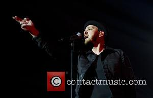 American singer songwriter Gavin DeGraw who found fame with his single 'I Dont Want To Be' was photographed as he...