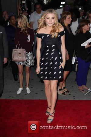 Chloë Grace Moretz - Stars were snapped as they took to the red carpet at the Screening of action, crime...