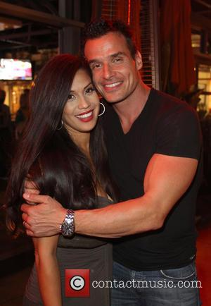 Cheryl Moana Marie Nunes and Antonio Sabato Jr. - 'The celebs from the hit TV show 'Dancing with the Stars'...