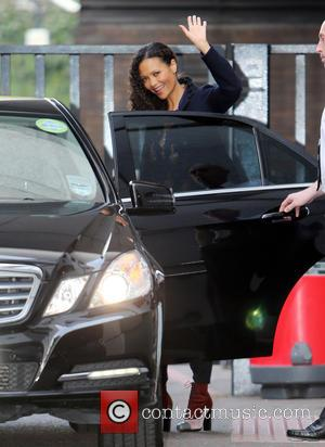 Thandie Newton - Celebrities at the ITV studios - London, United Kingdom - Monday 22nd September 2014