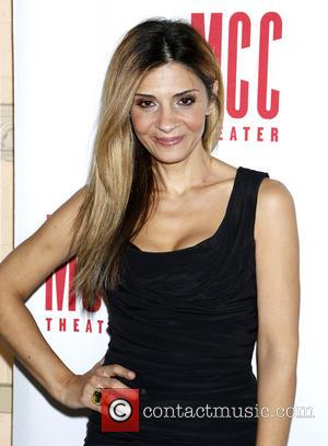 Callie Thorne - Opening night after party for 'The Money Shot' - Arrivals at Lortel Theatre, - New York, New...