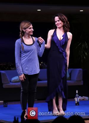 Callie Thorne and Elizabeth Reaser