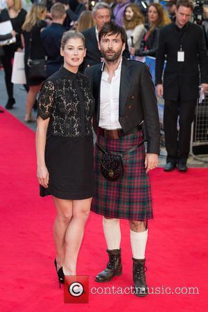 Rosamund Pike and David Tennant