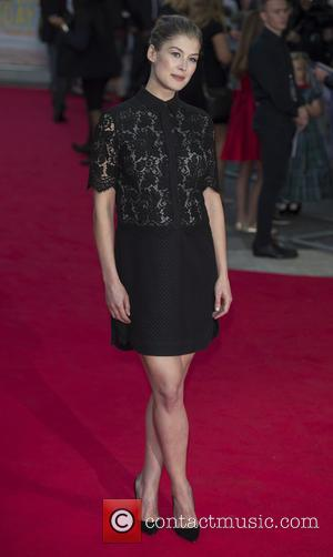 Rosamund Pike - Snaps of the stars as they took to the red carpet for the premier of British comedy...