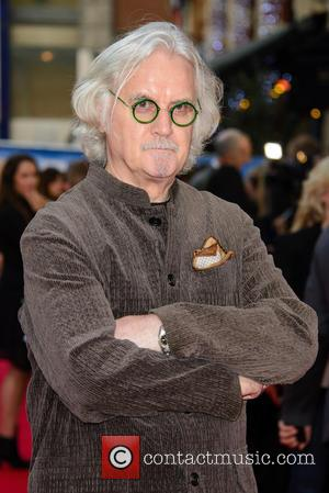 Billy Connolly - Snaps of the stars as they took to the red carpet for the premier of British comedy...