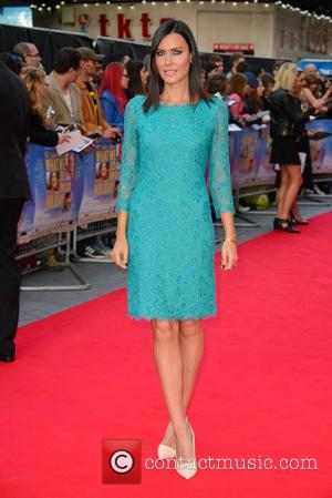 Linzi Stoppard - Snaps of the stars as they took to the red carpet for the premier of British comedy...