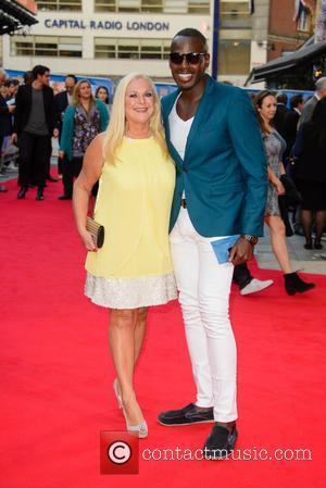 Vanessa Feltz - Snaps of the stars as they took to the red carpet for the premier of British comedy...
