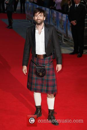 David Tennant - 'What We Did on Our Holiday' premiere at Leicester Square, Odeon West End - London, United Kingdom...