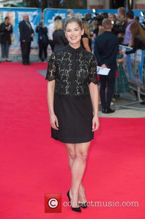 Rosamund Pike - What We Did on Our Holiday premiere at Odeon West End - London, United Kingdom - Monday...