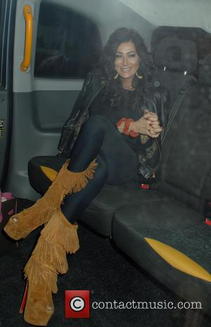 Nancy Dell'Olio - Celebrities at Chiltern Firehouse restaurant - London, United Kingdom - Tuesday 23rd September 2014