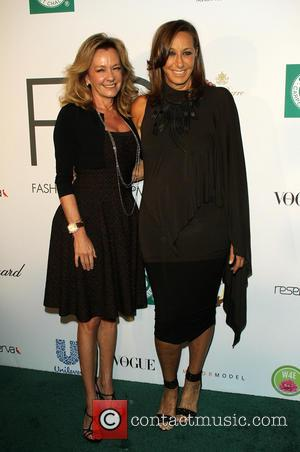 Caroline Scheufele and Donna karen - Fashion 4 Development presents the First Ladies Luncheon in New York, New York, United...