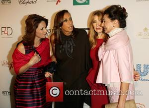 Donna karen and Evie Evangelou - Fashion 4 Development presents the First Ladies Luncheon in New York, New York, United...