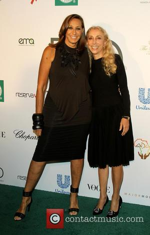 Donna karen and Franca Sozzani - Fashion 4 Development presents the First Ladies Luncheon in New York, New York, United...