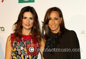 Donna Karen and Livia Firth