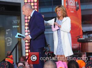 Matt Lauer and Hoda Kotb - American country music singer Kenny Chesney photographed performing on the TV show 'Today' in...