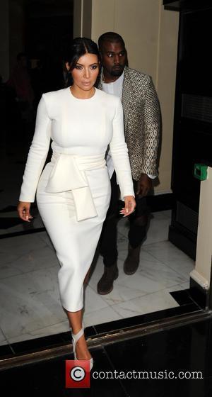 Kim Kardashian and Kanye West - Kim Kardashian and Kanye West leaving the Dorchester Hotel at Dorchester Hotel - London,...