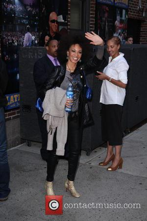 Cindy Blackman-Santana - Late Show with David Letterman at Ed Sullivan Theater - New York City, New York, United States...