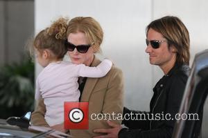 Nicole Kidman, Faith Margaret Kidman Urban and Keith Urban