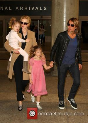 Nicole Kidman, Keith Urban, Sunday Rose Kidman Urban and Faith Margaret Kidman Urban - Australian actress known for her roles...
