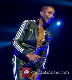 Pharrell Williams - Pharrell Williams performs at the the Ziggo Dome in Amsterdam - Amsterdam, Netherlands - Tuesday 23rd September...