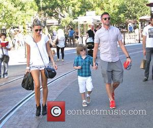 Robbie Keane - Robbie Keane and family shopping at The Grove - Los Angeles, California, United States - Tuesday 23rd...