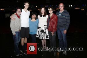 Ann Harada, Lesley Ann Warren, Robyn Goodman and Cast