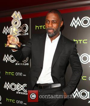 Idris Elba - Idris Elba recieves the 2014 MOBO Inspiration Award at Ronnie Scott's - London, United Kingdom - Tuesday...