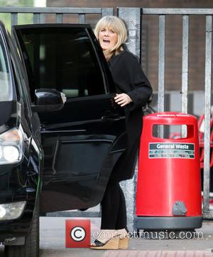Sally Lindsay - Celebrities at the ITV studios - London, United Kingdom - Tuesday 23rd September 2014