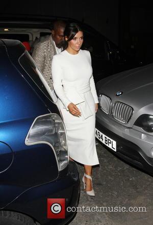 Kim Kardashian - Kim Kardashian and Kanye West at Hackney, London, - London, United Kingdom - Tuesday 23rd September 2014