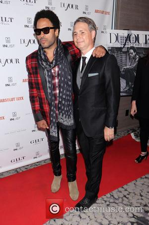 Lenny Kravitz and Jason Binn - Rock star Lenny Kravitz put on a party for the release of his latest...