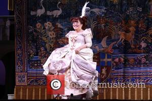 Ann Harada - Photos from the curtain call for Cinderella at the Broadway Theatre in New York, New York, United...