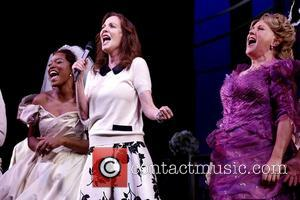 Keke Palmer, Lesley Ann Warren and Judy Kaye - Photos from the curtain call for Cinderella at the Broadway Theatre...