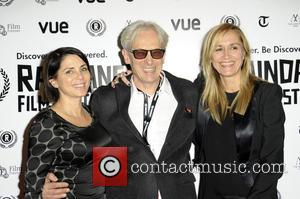 Sadie Frost, Elliott Grove and Emma Comley - The Vue cinema in Leicester square in London was host to the...