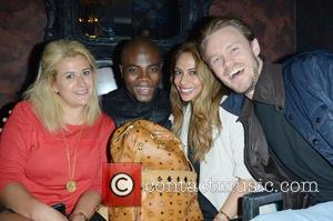 Guest and BB Kaye - Union J fragrance launch party - Inside - London, United Kingdom - Wednesday 24th September...