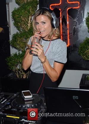 Zoe Hardman - Union J fragrance launch party - Inside - London, United Kingdom - Wednesday 24th September 2014