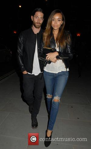 Ashley Madekwe - A variety of Celebs including Lindsay Lohan were spotted at the famous Chiltern Firehouse restaurant in London,...