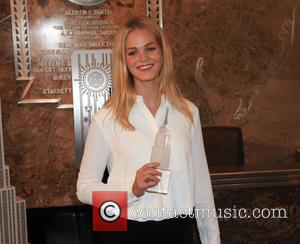 Erin Heatherton - American fashion model Erin Heatherton at the Empire state building in in New York City, New York,...