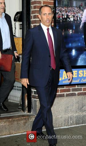 Jerry Seinfeld - Late Show with David Letterman at Ed Sullivan Theater - New York City, United States - Thursday...