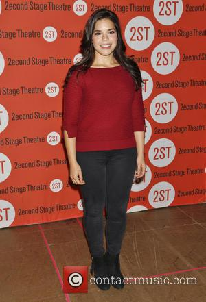 America Ferrera - Photographs from the second stage theater as stars arrived at the meet and greet play for the...