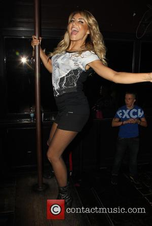 Alina Artts - Alina Artts makes her 1st US performance at The Abbey - West Hollywood, California, United States -...