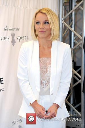 Britney Spears - Britney Spears promoting her lingerie line Intimate Collection at CentrO shopping mall - Oberhausen, Germany - Thursday...